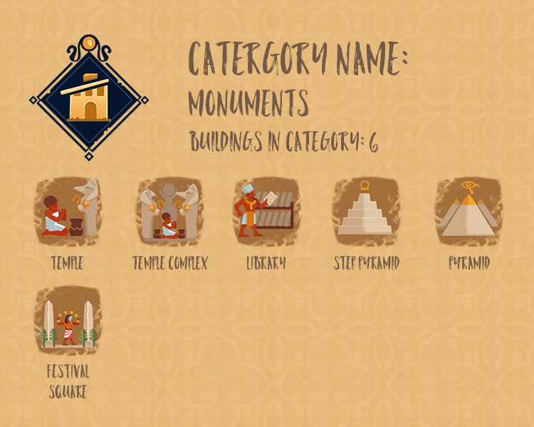Category Info - Monuments